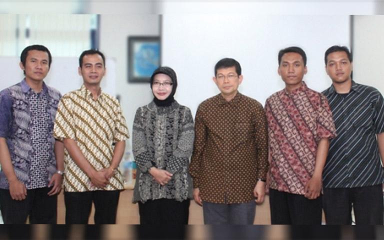 Pengurus al Kahfi dan perwakilan dari Universitas Al Azhar Indonesia