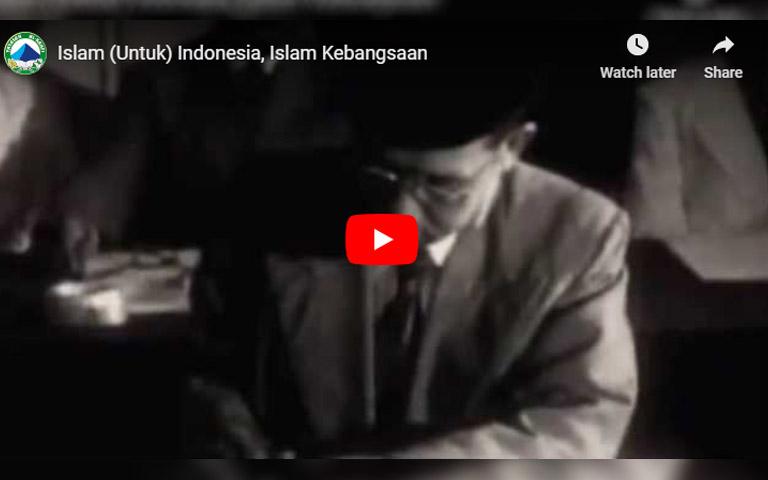 Islam (Untuk) Indonesia, Islam Kebangsaan