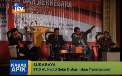 Seminar Nasional Pengaruh Islam Transnasional Terhadap Kehidupan Berbangsa (JTV)