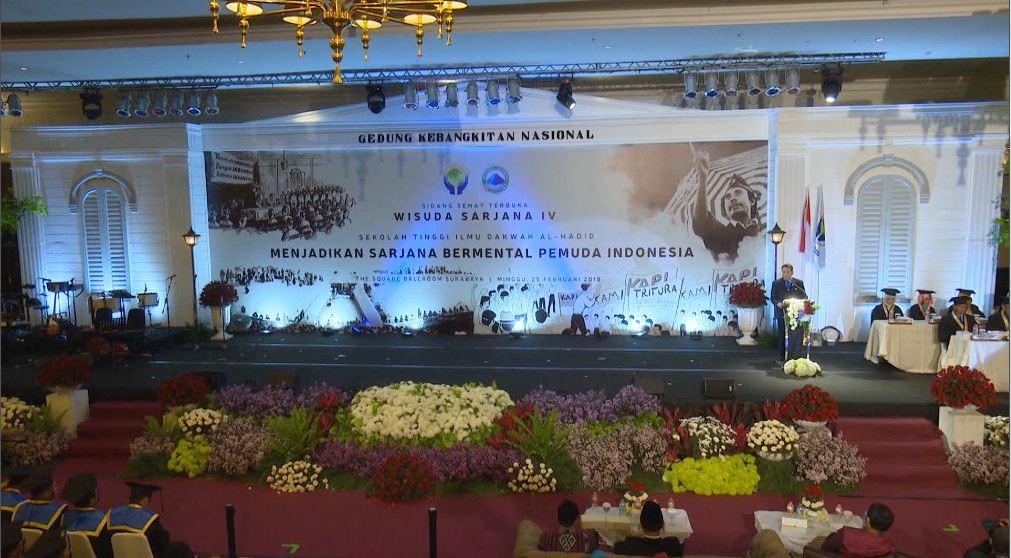 Sambutan dari Ketua Yayasan Al Kahfi Surabaya, Suwari S.H, M.Kom.I