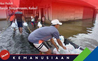 Program Peduli Banjir Banjarmasin-Kalsel 2021