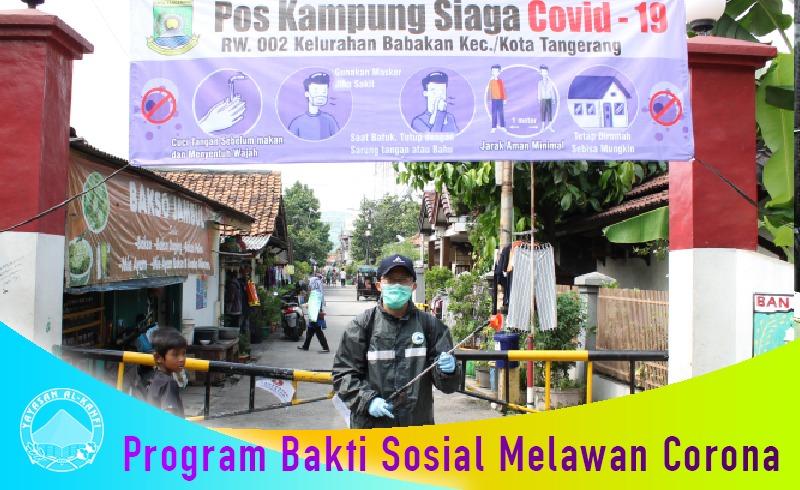 Yayasan Al-Kahfi Cabang Tangerang Perwakilan Sukasari – Setulus Hati Peduli dan Berbagi di Tengah Pandemi