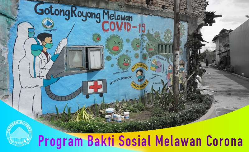 Yayasan Al-Kahfi Cabang Medan 1 – Gotong Royong Melawan Covid-19
